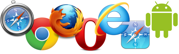 All Major Browsers